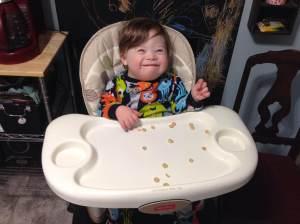 Good morning! I'm having some cheerios for breakfast.